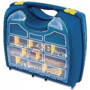 Чемодан для электроинструментов зеленый с органайзером №43, TAYG, 143007