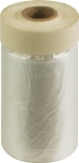 Пленка укрывная, с клейкой лентой, 10мкм, FIT
