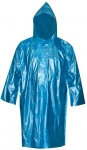 Плащ дождевик синий, полиэтилен, FIT, 12155