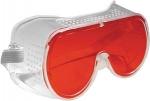 Очки защитные красные, FIT, 12210