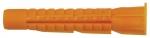 Дюбель универсальный с бортиком (U) 5 х 32 100шт. (Фасовка), FIT, 23851-0