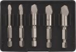 Экстракторы для болтов и шпилек усиленные, набор 5 шт., FIT, 36437