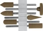 Насадки резиновые полировальные , средней зернистости , набор 6 шт., FIT, 36922