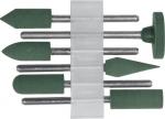 Насадки резиновые полировальные , мелкой зернистости , набор 6 шт., FIT, 36923