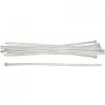 Хомуты нейлоновые, белые для проводов, 200 мм (фасовка 8 шт), FIT, 60420-2