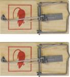 Набор малых мышеловок 100х45 мм, FIT, 67800