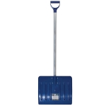 Лопата для уборки снега поликарбонатная Профм с алюминиевым черенком большая 550х420х1350 мм, FIT, 68119