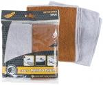 Салфетки для кузова автомобиля ''Трек'', 2 шт./упак., микрофибра (1404009), FIT, 68615