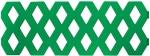 """Забор декоративный """"Ромб"""", 1,2 м, 2 шт, зеленый, FIT, 77489"""