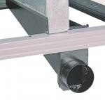 Патрубок для отсоса стружки к циркулярным пилам BKS, METABO, 0910008749