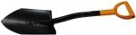 Лопата штыковая укороченная Solid, FISKARS, 131417