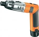 Аккумуляторная отвертка SE 3.6 Li, AEG, 413165