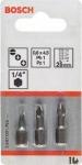 Набор бит Extra Hart 3 шт PH/PZ/T, 89 мм, BOSCH, 2607001767
