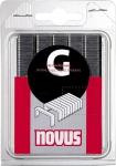 Скобы плоские для степлера 1,25х11,3х8 мм, 53F/8, 1200 шт, NOVUS, 042-0375