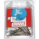 Заклепки потайные алюминиевые для степлера, NOVUS