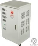 Стабилизатор напряжения трёхфазный 6 кВа, КАЛИБР МАСТЕР, АСН-6000/3М