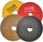 Диск шлифовальный по камню 100х15 мм, зерно 100, DIAM, 000141