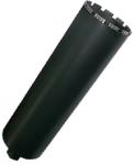 Коронка алмазная 63х400 мм, 1,25 UNC, 6 турбо-сегментов по бетону H-400, DIAM, 312011