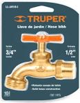 Кран сливной, латунь LL-JAR-B-2, TRUPER, 13147