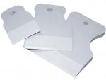 Набор резиновых белых шпателей 40, 60, 80 мм, FAMAKS, 06700