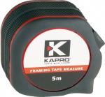 Рулетка с нейлоновым покрытием, 5 м, KAPRO, 607-05