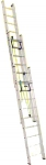 Лестница трехсекционная усиленная профессиональная с канатной тягой 3х20 (5680/14640, 56 кг), АЛЮМЕТ, 3320