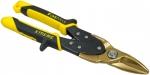 Ножницы по металлу, лезвия с титановым покрытием, STANLEY, 0-14-103