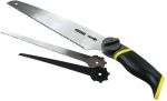 Ножовка универсальная с 3-мя сменными полотнами 3 в 1, STANLEY, 0-20-092