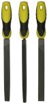 Набор из 3-х напильников 200 мм (плоский, полукруглый, трехгранный), STANLEY, 0-22-464