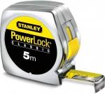 Рулетка Powerlock, пластмассовый корпус, STANLEY