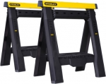 Козлы складные 2-Way Adjustable Sawhorse Twin Pack, 2 шт, пластмассовые, STANLEY, 1-70-559