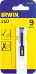 Лезвие 9 мм, 10 шт, IRWIN, 10504567