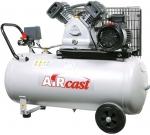 Компрессор поршневой Aircast СБ 4/С-100.LB30A, с ременным приводом, REMEZA, 4112210