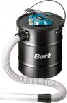 Пылесос электрический BAC-500-22 для сбора золы, 500 Вт, 12 кПа, 22 л, BORT, 98291834