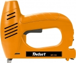 Степлер электрический DET-100, 20 уд/мин, скоба 10,6 мм, DEFORT, 98291018
