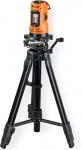 Лазерный уровень автоматический DLL-10T-K, 10 м, точность 0,5 мм, DEFORT, 98299472