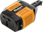 Инвертор автомобильный DCI-150, 150 Вт, DEFORT, 98299564