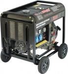 Дизельный генератор, 220В, 5,2-5,7кВт, D7500EW, FOXWELD