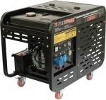 Дизельный генератор, 220В, 8,5-9кВт, D12000E, FOXWELD