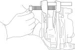 Приспособление для утапливания поршней тормозного цилиндра 20/5, ДЕЛО ТЕХНИКИ, 820001