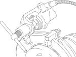 Приспособление для утапливания поршней тормозного цилиндра VAG группа 20/5, ДЕЛО ТЕХНИКИ, 820005