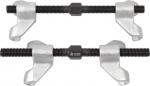 Стяжка амортизаторных пружин, 230 мм, кованная, двойной крюк, 2 предмета, МАСТАК, 100-04230