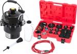 Приспособление для замены тормозной жидкости, 6 л, комплект крышек адаптеров, 15 предметов, МАСТАК, 102-40005