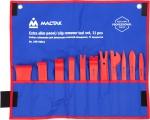 Набор съемников (лопатки) для панелей облицовки, 11 предметов, МАСТАК, 108-10011