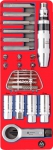 Набор демонтажный с ударной отвёрткой, ложемент, 24 предмета, МАСТАК, 5-19424