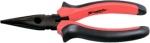 Длинногубцы Black Nickel, прямые, двухкомпонентные рукоятки, MATRIX