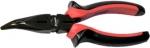 Длинногубцы Black Nickel, изогнутые, двухкомпонентные рукоятки, MATRIX
