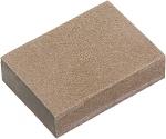 Губка для шлифования, 3 шт., P 60/80, P 60/100, P 80/120, MATRIX