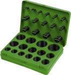 Набор резиновых уплотнительных прокладок, D 7 - 53 мм, 404 предм., СИБРТЕХ, 47597