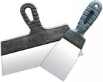 Набор шпателей из нержавеющей стали, 100 мм и 350 мм, пластмассовая ручка, СИБРТЕХ, 85487